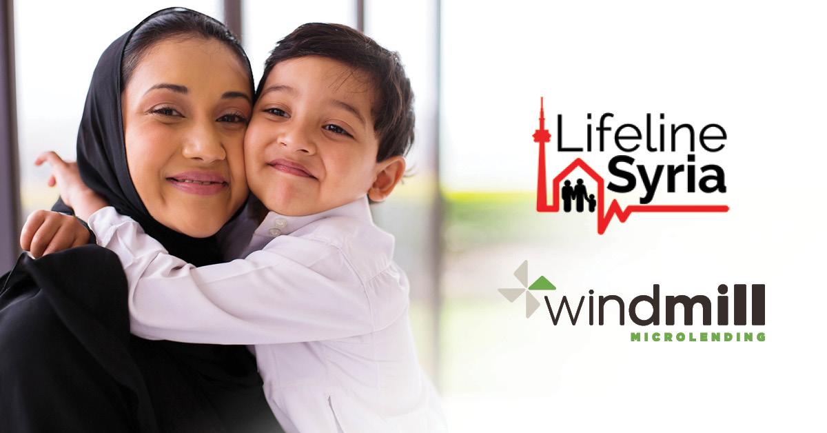 Lifeline Syria Windmill Microlending