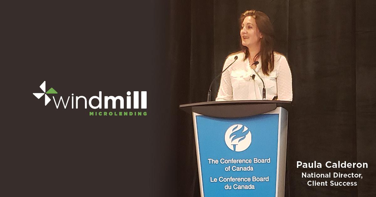 Paula Calderon Windmill Microlending
