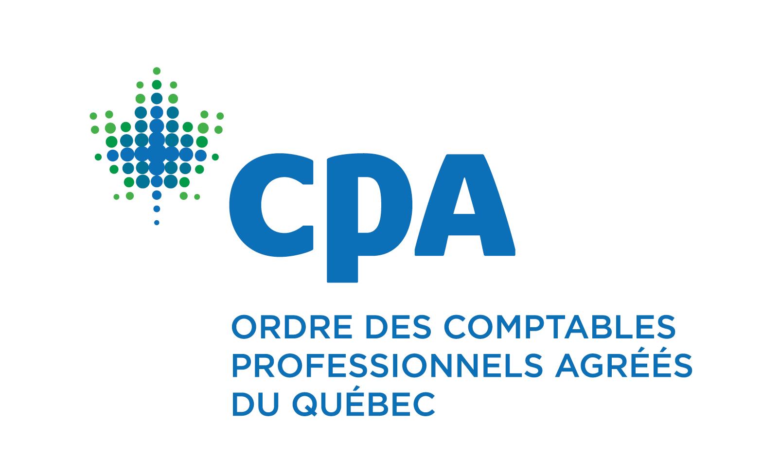 CPA Ordre des comptables professionnels agréés du Québec